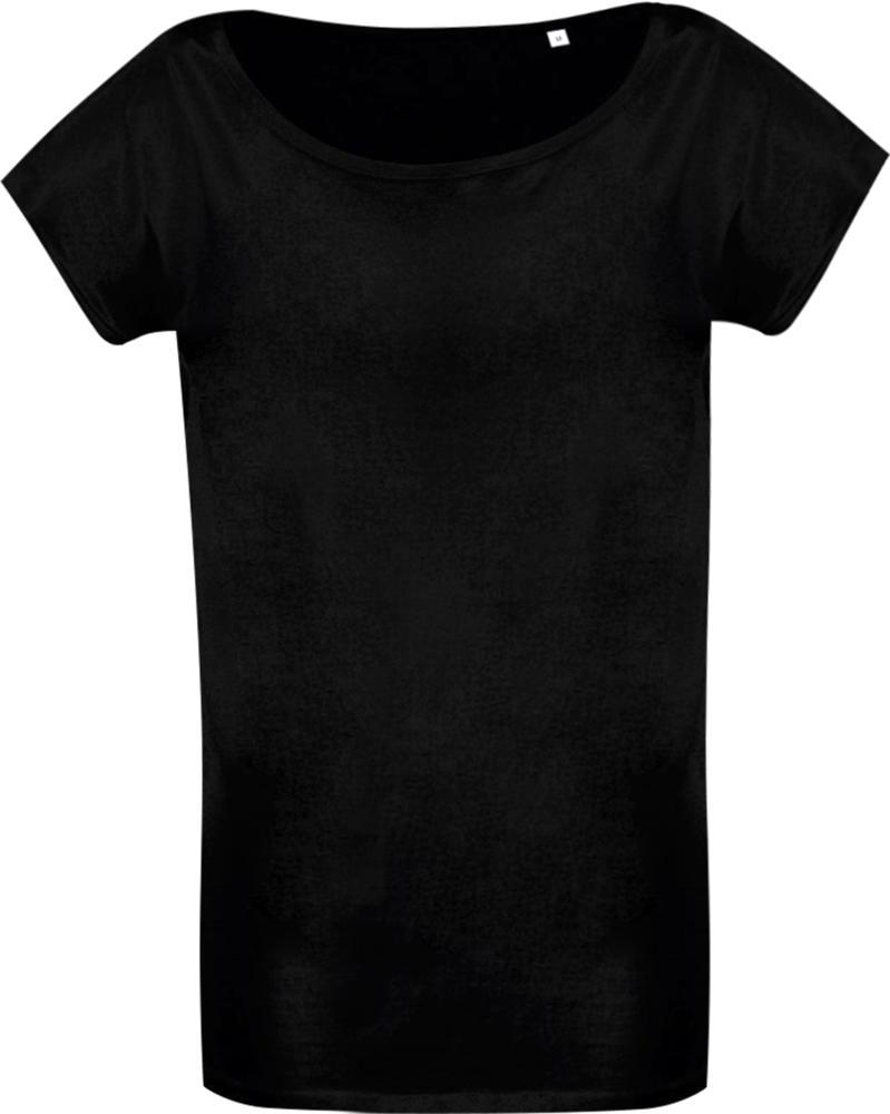 где купить черную футболку