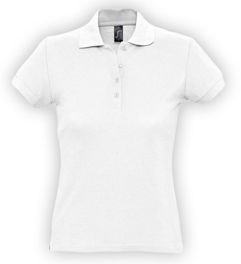 15c8708a748ca Рубашка поло женская PASSION 170, белая под нанесение логотипа, цена 644.00  руб., артикул a226-9083: купить оптом в интернет-магазине ААА Групп в ...